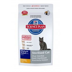 Feline Sterilised mature poulet Hill's 1.5 Kg