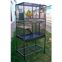 Cage furet/chinchilla sur pied 77*46.5*96 cm IMOR