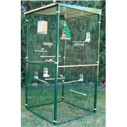 Cage animosfery for Jardin 1m2