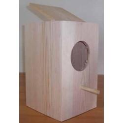 Nid en bois grande perruches 20.5*18.5*29 cm IMOR
