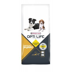 Opti-life Puppy Medium Versele Laga 12.5 Kg