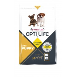 Opti-life puppy mini Versele laga 2.5 Kg