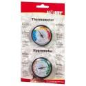 Thermomètre et Hygromètre analogique Hobby