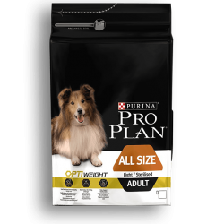 Pro plan light sterilisé Adult poulet 3 Kg