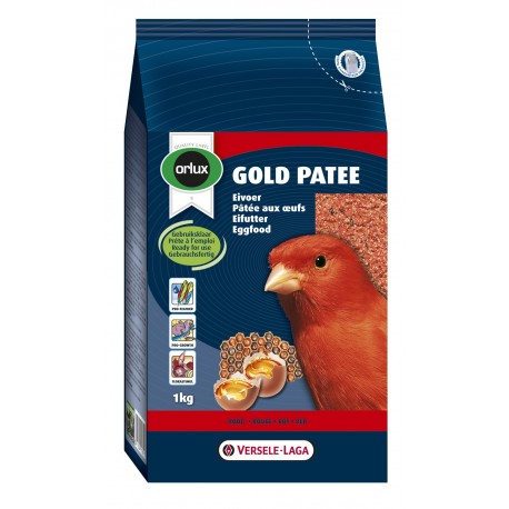 Orlux Gold patée rouge canaris 1 Kg