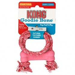 Kong puppy goodie bone +corde pour chiot