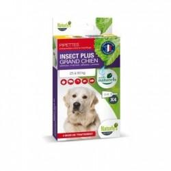 Pipettes X 4 Insect plus chien moyen 25-50Kg