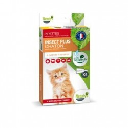 Pipettes antiparasitaires X 4 Insect plus chaton