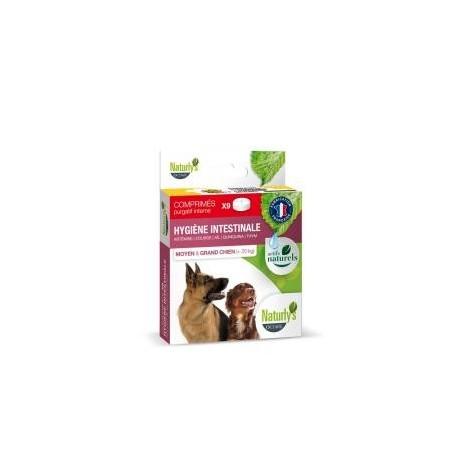 Hygiène intestinale moyen chien/grand chien 9 comprimés