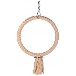 Corde coton avec 1 anneau 25cm