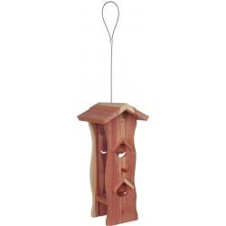 Mangeoire bois oiseau extérieur