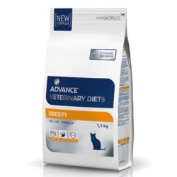Croquettes chat Obesity management Advance Veterinary Diets 1.5 Kg