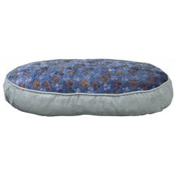 Coussin Laslo gris/bleu 60cm