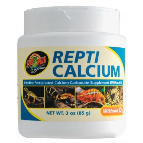 Repticalcium sans D3 Zoomed 85g