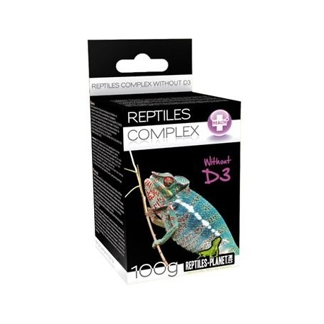 Vitamines sans D3 Reptiles planet 100g