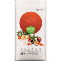 Croquettes Natura Diet Daily food 12 Kg