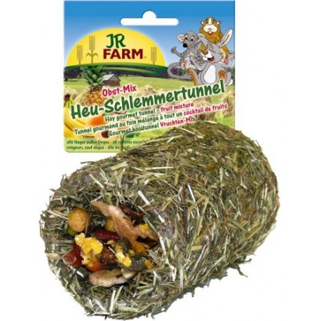Tunnel gourmand foin fruit 125g JR farm