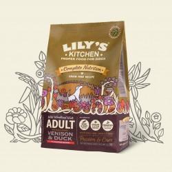 Croquettes sans céréale pour chien au chevreuil 1 Kg Lily's kitchen