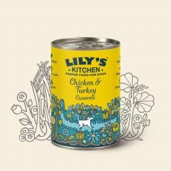 Recette au poulet pour chien 400 g Lily's Kitchen
