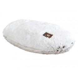 Coussin Snowhite blanc 75 X 52 cm