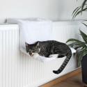 Hamac blanc pour radiateur