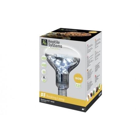 D3 UV Basking Lamp Reptil System 100W