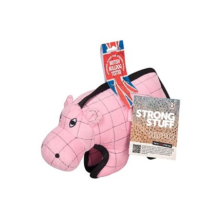 Jouet chien Strong Stuff Hippopotame