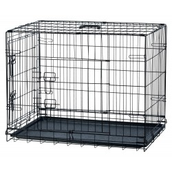 Cage de transport pliable chien 78X62X55 cm