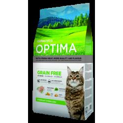Optima grain free chat stérilisé 3 Kg