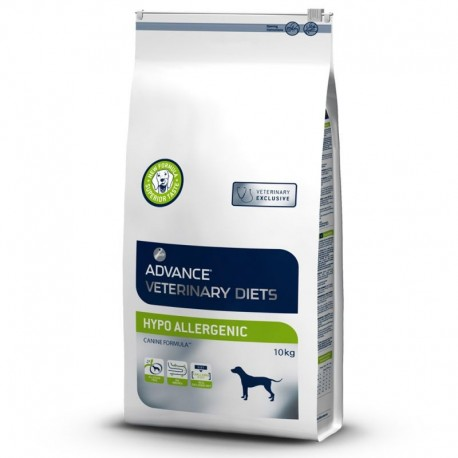Croquettes hypoallergenic Advance Veterinary Diets 10 Kg