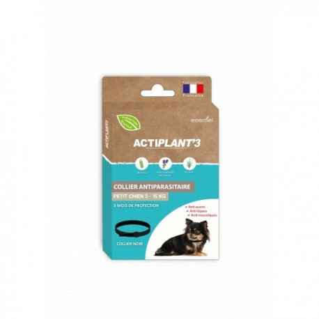 Collier antiparasitaire Actiplant3 chien 2-15 kg