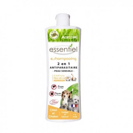 E shampoing 2 en 1 chiot chaton 250ml