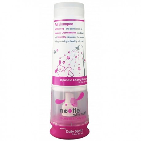 Shampoing Nootie + spray fleur de cerisier japonais