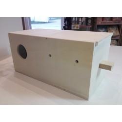 Nid en bois horizontal inséparable