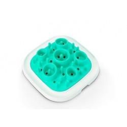 Mangeoire éducative Enigma M turquoise