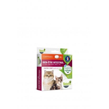 Hygiène intestinale chaton/chat 3 comprimés