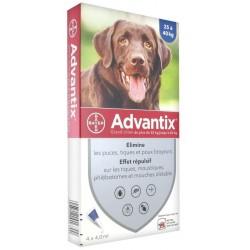 Advantix chien 25-40 Kg 4 pipettes