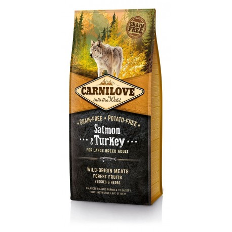 Carnilove adult large breed salmon&turkey 12 Kg