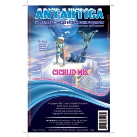 Cichlid mix congelé blister 100g