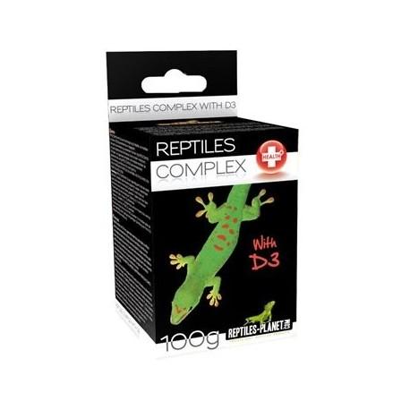 Vitamines avec D3 Reptiles planet 100g