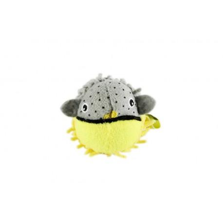 Jouet peluche pour chat poisson BOB
