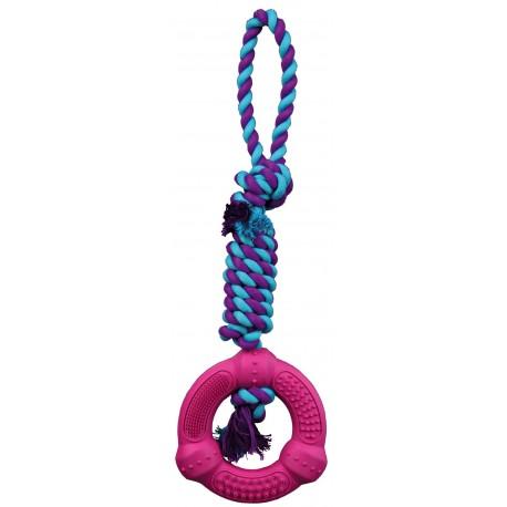 Anneau sur une corde 41 cm