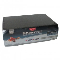 Bimouss bleu/noir 30 X 20 X 5 cm