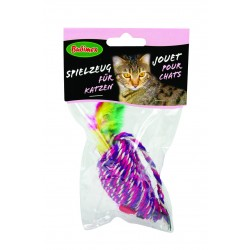 Jouet chat souris encordée sisal Bubimex