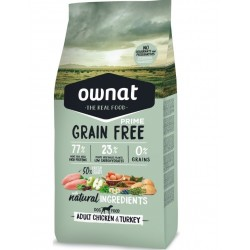 Ownat/Maxima grain free Adult volaille 3Kg