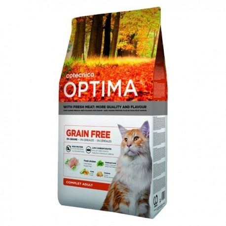 Optima grain free chat adulte complet 3 Kg
