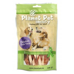 Torsades poulet poisson Planet Pet 100g