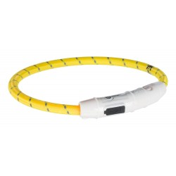 Flash collier lumineux USB jaune