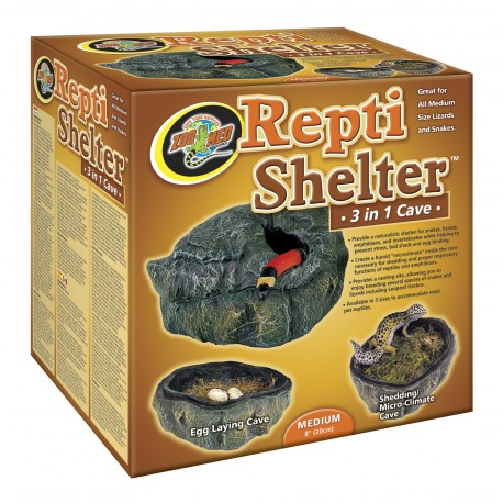 Repti Shelter Moyen Zoomed