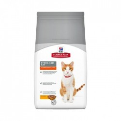 Feline sterilised young adult poulet Hill's 1.5 Kg
